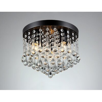 Gisela 3-Light Flush Mount