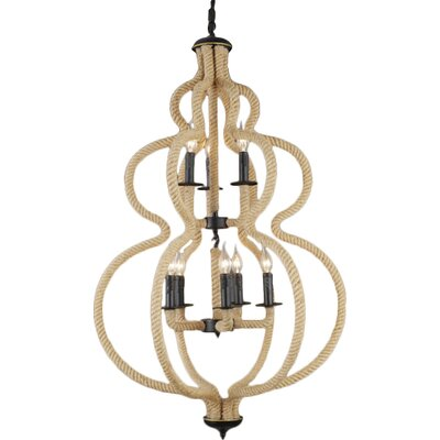 Volkman 8-Light Foyer Pendant