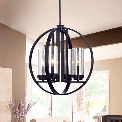 Yuval 4-Light Foyer Pendant