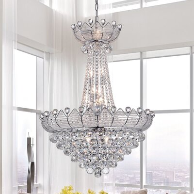 Alsazia 15-Light Crystal Chandelier