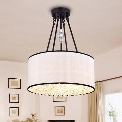 Carrington 3-Light Semi Flush Mount