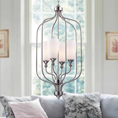 Alanna 4-Light Foyer Pendant