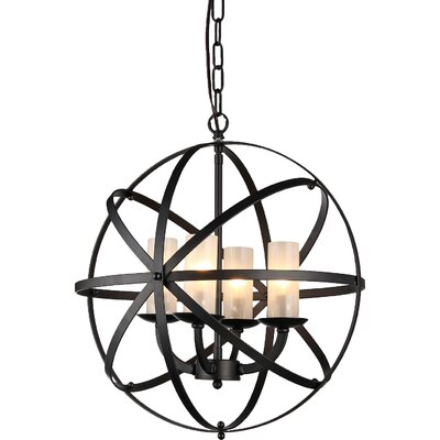 Newark 4-Light Globe Pendant