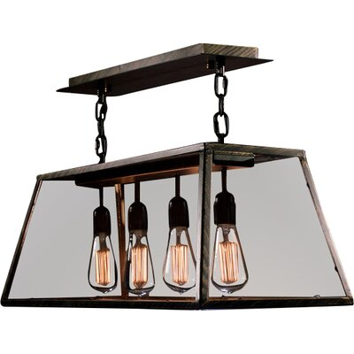 Honaz 4-Light Kitchen Island Pendant