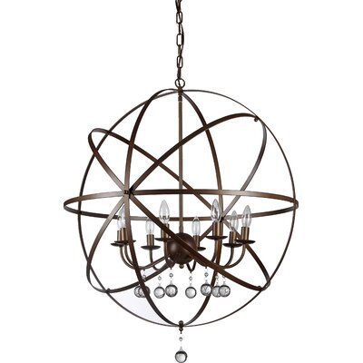 Jossie 8-Light Globe Pendant