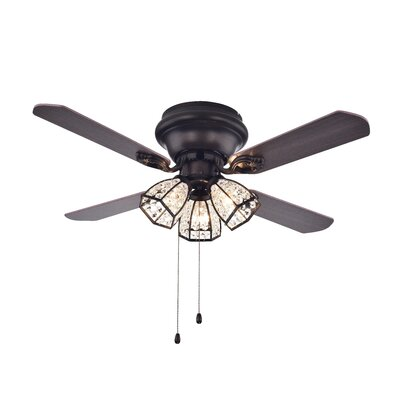 Tarudor Dark Wood 4 Blade Ceiling Fan