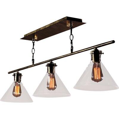 Amerie Edison 3-Light Kitchen Island Pendant