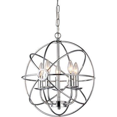 Aidee 5-Light Globe Pendant