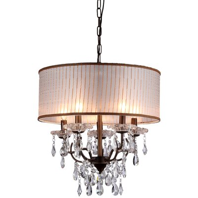 Scott 6-Light Drum Chandelier
