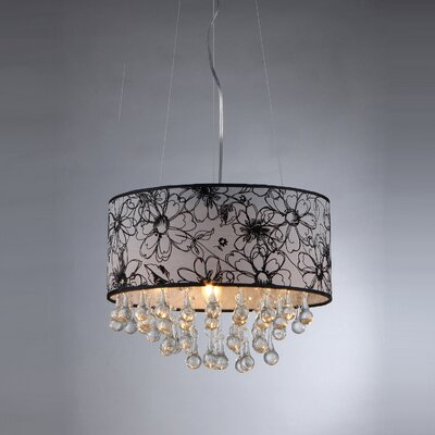 Dione 3-Light Drum Chandelier