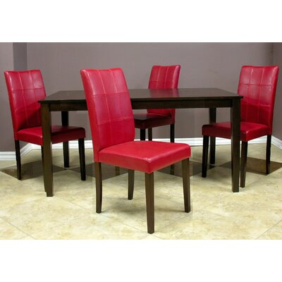 Evellen 5 Piece Dining Set
