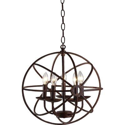 Jalisa 5-Light Globe Pendant