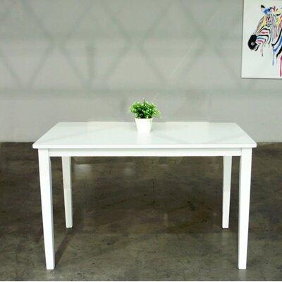 Hazel Modern Dining Table Size: 29.1 H x 29.5 W x 47.2 D