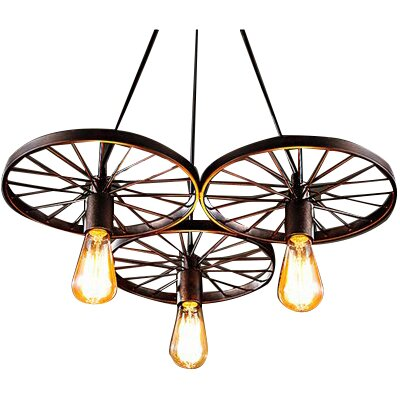 Kaleigh 3-Light Shaded Chandelier