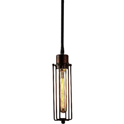 Susanna Adjustable Height 1-Light Antique Edison Pendant