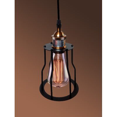 Dinah Adjustable Height 1-Light Mini Pendant