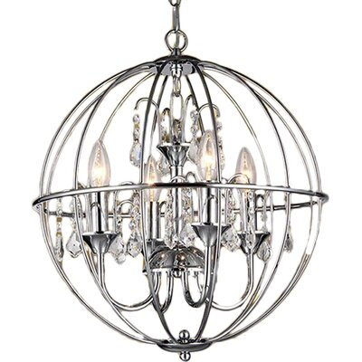 Avee 4-Light Globe Pendant