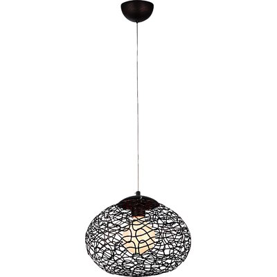 Aaliyah 1-Light Globe Pendant