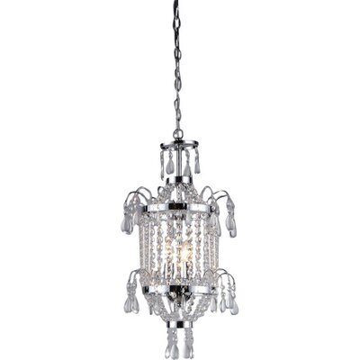 King 2-Light Mini Chandelier