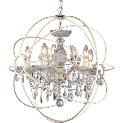 Rosielee 8-Light Mini Chandelier