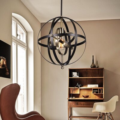 Vaydin 1-Light Globe Pendant