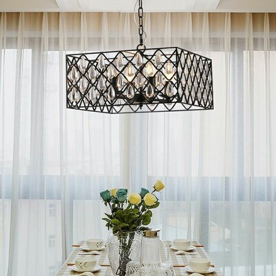 Polito 4-Light Pendant Light