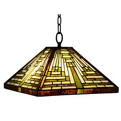 Erica 1 Light 15 Glass Lamp Shade