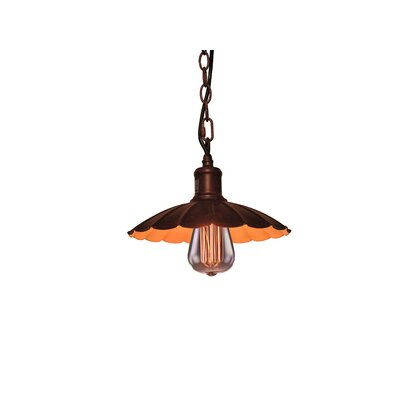 Izzie 1-Light Bronze Mini Pendant