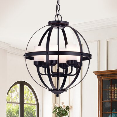 Almog 6-Light Globe Pendant