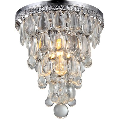Kristal 1-Light Flush Mount