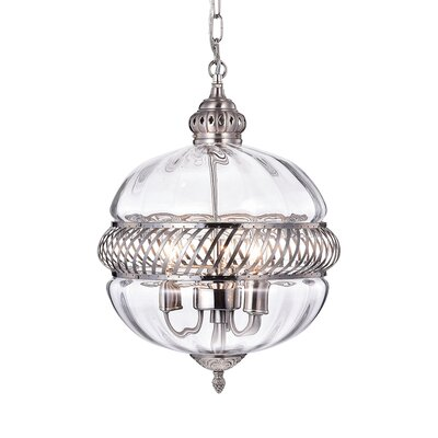 Flannigan 3-Light Globe Pendant