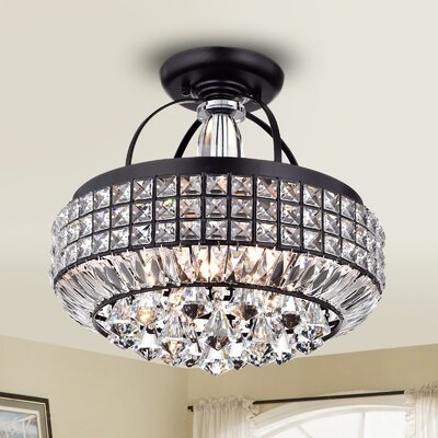 Minta 4-Light Semi-Flush Mount
