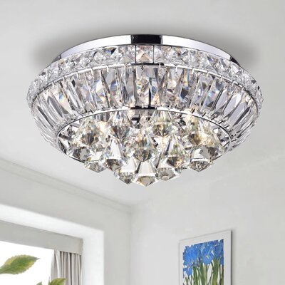 Kandice 4-Light Flush Mount
