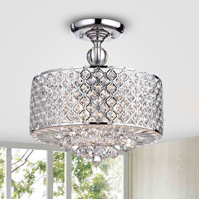 Adriana 4-Light Semi Flush Mount