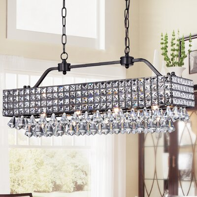 Harriett 4-Light Crystal Pendant