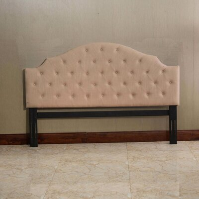 Thebes King Upholstered Panel Headboard