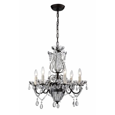 Avila 6-Light Crystal Chandelier