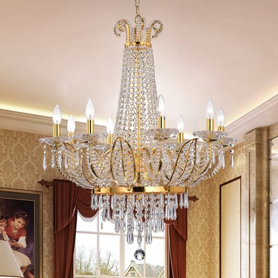Palatine 8-Light Crystal Chandelier