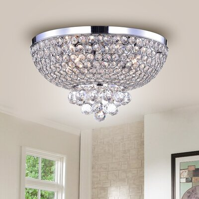 Lamont Hemisphere 4-Light Flush Mount