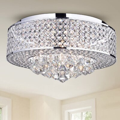 Jocelyn 4-Light Flush Mount