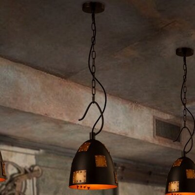 Claude 1-Light Inverted Pendant