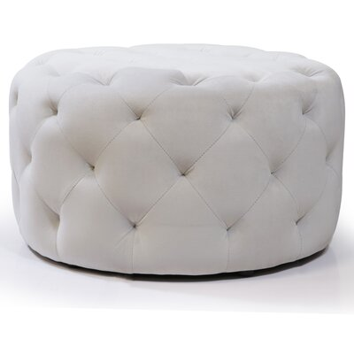 Horncastle Round Tufted Padded Ottoman