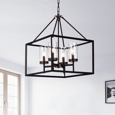 Anesia 4-Light Foyer Pendant