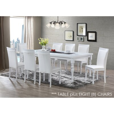 Daisi 9 Piece Dining Set