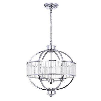 Huizenga 3-Light Globe Pendant