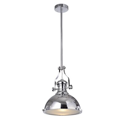 Madeira 1-Light Inverted Pendant