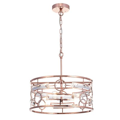 Blondelle Uliana 3-Light Drum Pendant