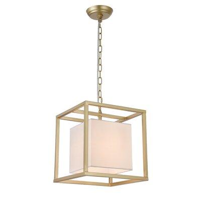Robledo 1-Light Geometric Pendant