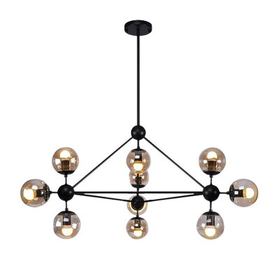 Julius 10-Light Sputnik Chandelier