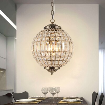 Sloane 3-Light Globe Pendant